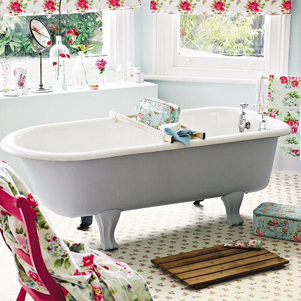 Cath Kidston floral flooring