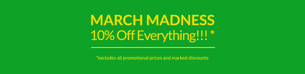 March 2019 10% off everything